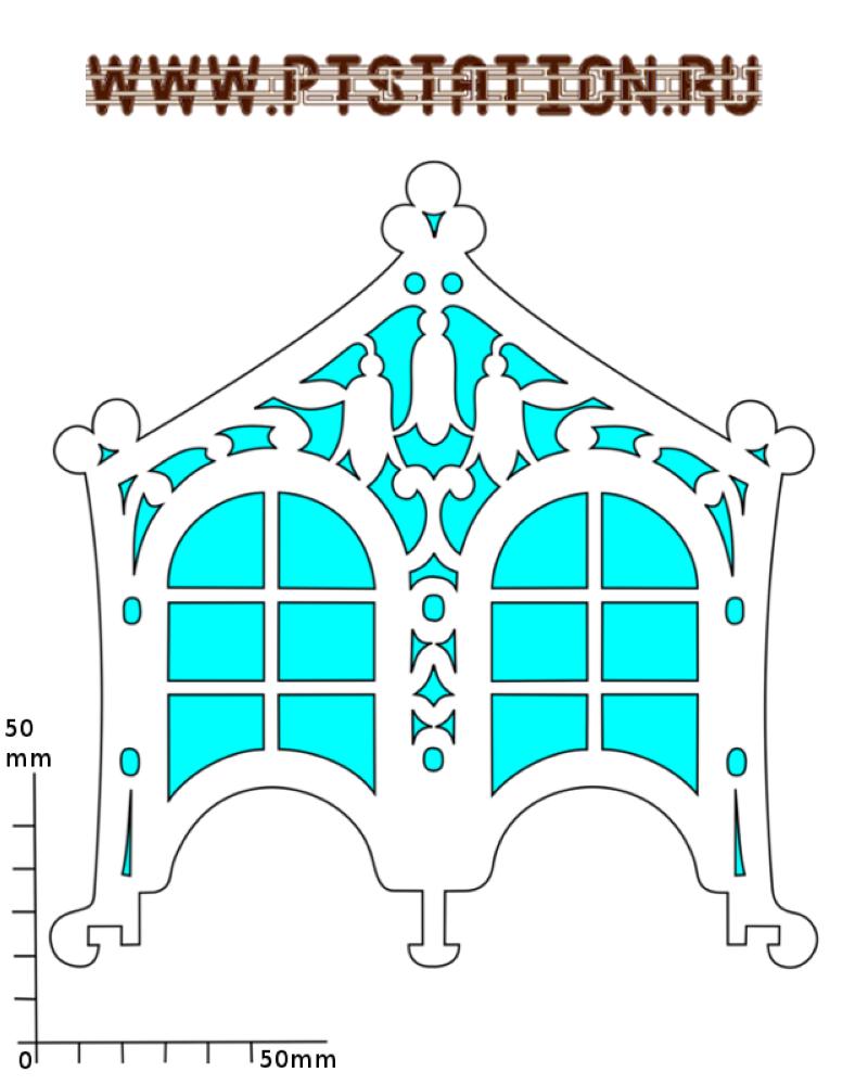 Чайный домик своими руками схема 9