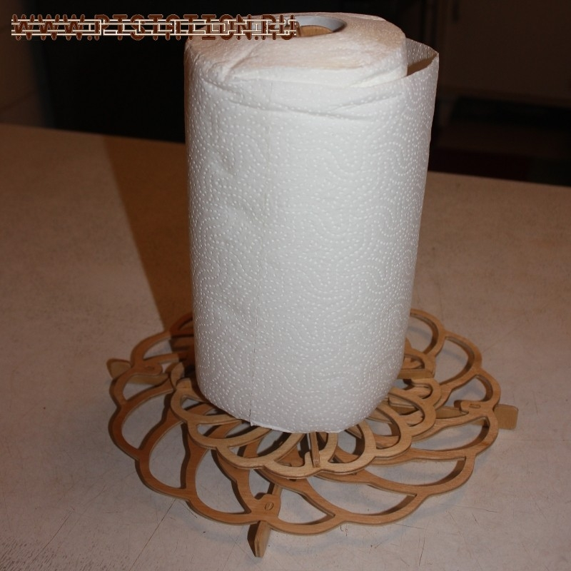 Подставка для бумажного полотенца своими руками