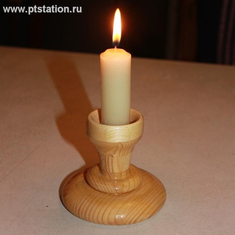 Подсвечник деревянный своими руками