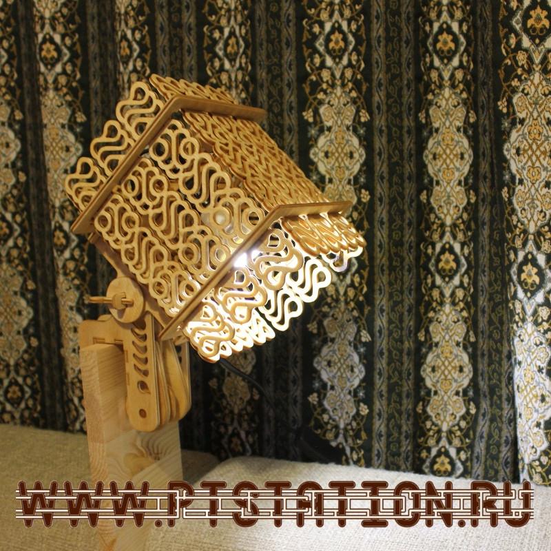 Светильники из фанеры своими руками фото 31